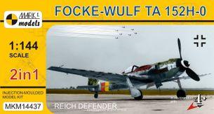Focke-Wulf Ta 152H-0 'Obránce Říše' ( mierka 1/144 )