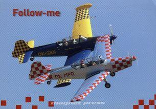 Follow-me pohľadnica