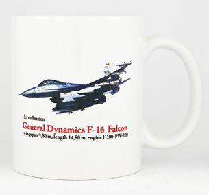 General Dynamics F-16 Falcon - Hrnček