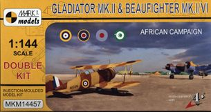 Model Gladiator MK.II aBeaufighter MK.I./IV