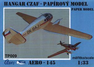 Papírový model - Aero - 145