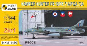 Hawker Hunter FR.10/71A/FGA.73A 'Recce' - stavebnica