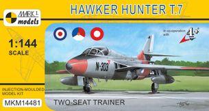 Hawker Hunter T.7 'Two-seat Trainer' - stavebnica