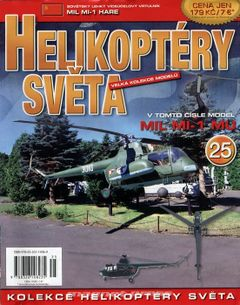 Helikoptéry světa č.25