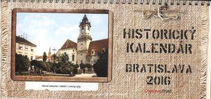Historický kalendár Bratislava 2016 - stolový