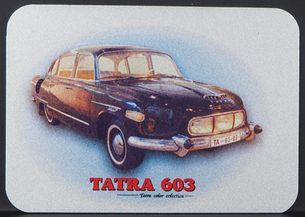 Kovová magnetka - Motív Tatra 603