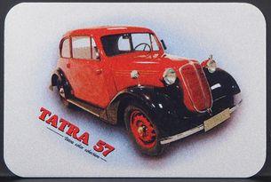 Kovová magnetka - Motív Tatra 57