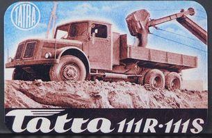 Kovová magnetka - Motív Tatra 111