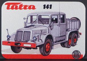 Kovová magnetka - Motív Tatra 141