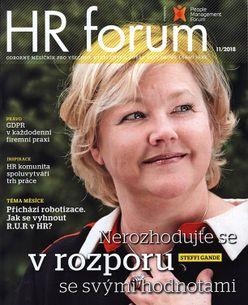 HR forum - predplatné