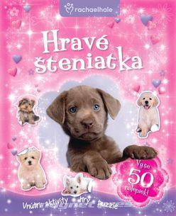 Hravé šteniatka + 50 nálepiek