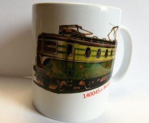 Hrnek s potiskem lokomotiva řady 140 (E 499.0) Bobina