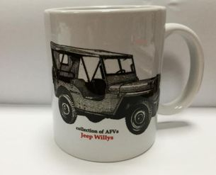 Hrnček Jeep Willys (collection of AFVs)