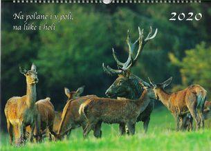 Nástenný kalendár Na poľane i v poli, na lúke i v holi