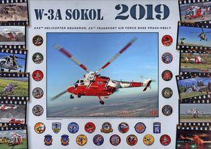 Nástenný kalendár W-3A Sokol 2019