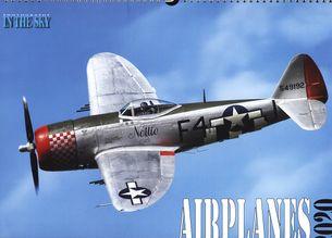 Nástenný letecký kalendár AIRPLANES 2020