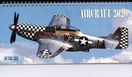 Stolný letecký kalendár AIRCRAFT 2020