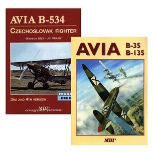 Avia B-35 & B-135 + Avia B-534 Czechoslovak fighter