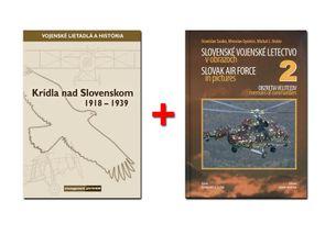 Krídla nad Slovenskom 1918-1939 + Slovenské vojenské letectvo v obrazoch 2