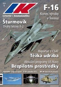 Letectví + kosmonautika č.01/2018 (e-vydanie)