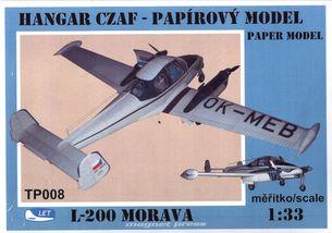 L-200 Morava ( mierka 1/33 )