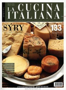 Speciál La cucina italiana 2012 - Sýry