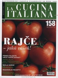 Speciál La cucina italiana 2013 - Rajče, jaká vášeň!