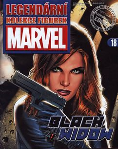 Marvel kolekcia figúrok č. 18 - Black Widow