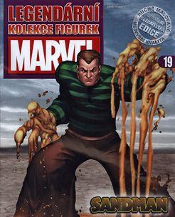Marvel kolekcia figúrok č. 19 - Sandman
