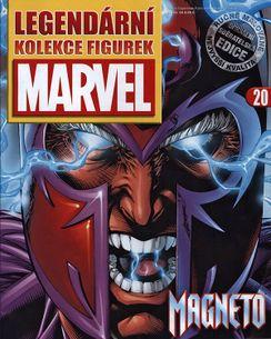 Marvel kolekcia figúrok č. 20 - Magneto