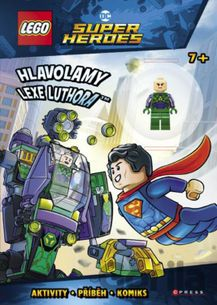 LEGO SUPER HERDES - Hlavolamy Lexe Luthora