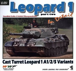 Leopard 1 Part Two Cast Turret Leopard 1A1/2/5 Variants