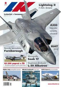 Letectví + Kosmonautika č.08/2016 (e-vydanie)