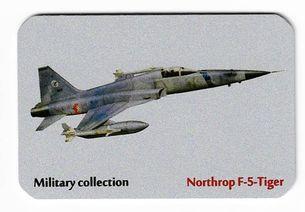 Kovová magnetka - Motív Military collection - Northrop F-5-Tiger