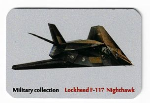Kovová magnetka - Motív Military collection - Lockheed F-117 Nighthawk