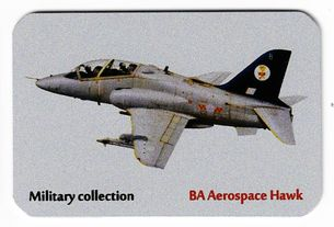 Kovová magnetka - Motív Military collection - BA Aerospace Hawk