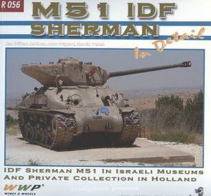 M51 IDF Sherman in detail
