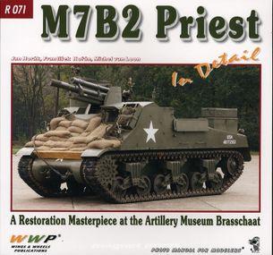 M7B2 Priest in detail