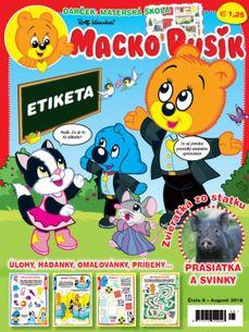 Macko Pusík č. 08/2018 (e-verzia)