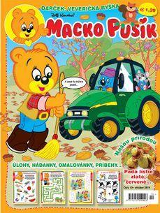 Macko Pusík č. 10/2019 (e-verzia)