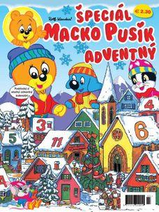 Macko Pusík špeciál 3/2018 - Adventný