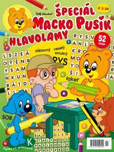 Macko Pusík špeciál 1/2019 Hlavolamy (e-verzia)