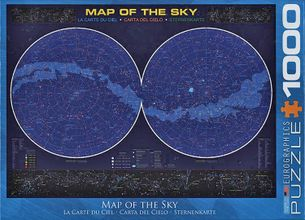 Puzzle 1000: Mapa oblohy (Map of the Sky)