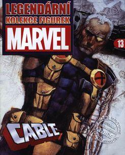 Marvel kolekcia figúrok č. 13 - Cable