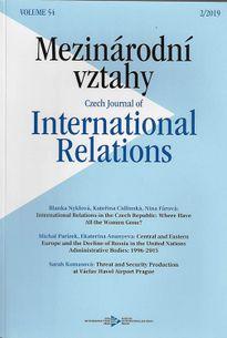 Mezinárodní vztahy - predplatné