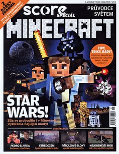 SCORE Speciál 3/2017 - Průvodce světem Minecraft
