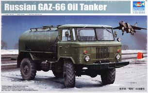 Model - Russian GAZ-66 Oil Tanker