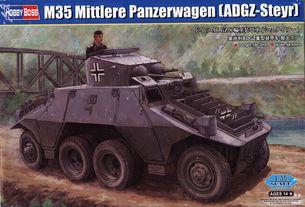 Model - M35 MITTLERE PANZERWAGEN ADGZ-STEYR