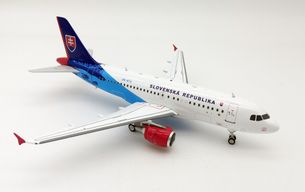 Model lietadla - Airbus A319-115CJ Slovak Government Flight Service