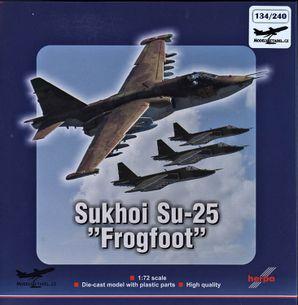 """Model Sukhoi Su-25K """"Frogfoot"""" (+ karta a nášivka)"""